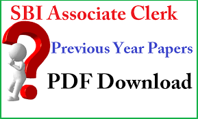SBI Junior Associates Previous Papers PDF