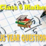 6th Class SA1 Maths Question Papers