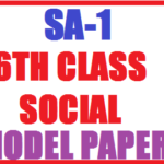 6th Class Social Question Papers
