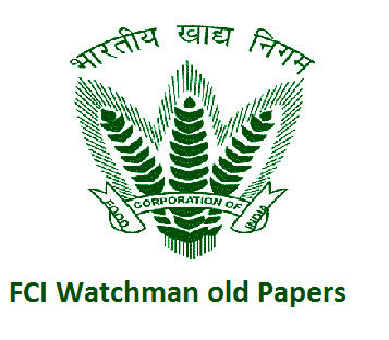 FCI Watchman Old Papers