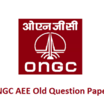 ONGC AEE Old Question Papers